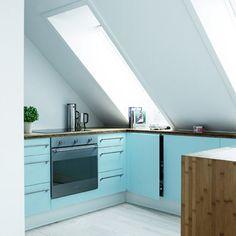 Die 35 besten Bilder von Küche Dachgeschoss | Dachwohnung ...
