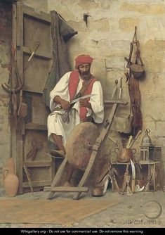 Jean Discart (1856 - 1944) Knife Sharpener