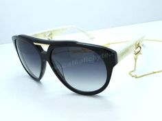 2014 Gucci GG 3599 S Black White Grey Oval Sunglasses Outlt Black Friday For Sale