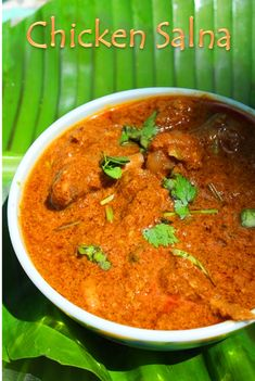 I make different types of salna to go with different dishes. This is one recipe which goes well with pretty much anything, specially biryani..It taste simply superb..Hope you will give this a try and let me know how it turns out for you.. Similar Recipe, Hyderabadi Mutton Dalcha Chicken Lentil Curry Onion Chicken Curry Aloo...Read More