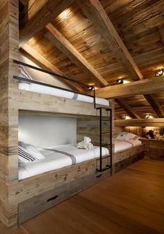 estructura madera, piecera cucheta baja                              …