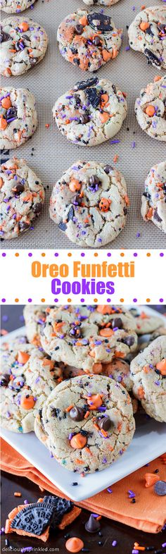 Oreo Funfetti Cookies- these cookies are always a HUGE hit!