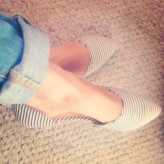 Loving my summer flats #woman shoes ❤️#fashion
