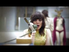 The Coathangers - Hurricane (OFFICIAL MUSIC VIDEO HD) girl crush. for real.