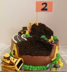 construction birthday cakes | Construction Cake | Cakes and Cupcakes for Kids birthday party