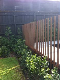 Like this for a section of pool fence