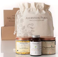 Ayurveda Pura Daily Detox Kit    Grab this Fantastic Gift. By Touch2 Is always Bringing Great Stuff to you :)