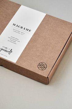 KIT de Macrame DIY Nivel principiante Macrame Pared Hanging   Etsy Dessert Packaging, Bakery Packaging, Cookie Packaging, Brand Packaging, Box Packaging, Sleeve Packaging, Clothing Packaging, Jewelry Packaging, Ideias Diy