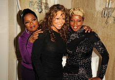 Oprah Winfrey, Mariah Carey and Mary J. Blige.