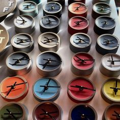 Clocks! (at Heath Ceramics)