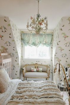 One of the prettiest girl's rooms ever!! via @Christine  Bijou and Boheme: Ava's Room