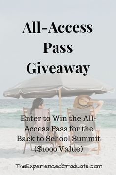Find out how you can win an exclusive All-Access Pass to the Back to School Summit, with over 25 guest experts help you prepare your child for the start of a new school year! Enter for a chance to win!