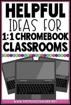 Helpful Ideas for Chromebook Classrooms Has your classroom turned into a Chromebook Classroom and you are unsure of how to utilize these devices each day? Come learn about some meaningful ways to integrate these devices into your elementary classroom! Teaching Technology, Educational Technology, Instructional Technology, Technology Posters, Technology Humor, Technology In Classroom, Assistive Technology, Google Classroom, School Classroom