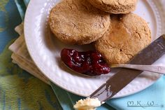 Retro Recipes: Vegan Cornmeal Biscuits | The Miss Kitchen Witch Recipe Blog