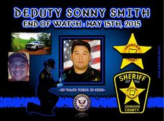 IN MEMORIAM: DEPUTY SONNY SMITH Deputy Sonny Smith was shot and killed as he and other deputies searched for a burglary suspect in the area of County Road 1723 at approximately 2:30 am. He located the subject hiding in a wooded area and pursued him on foot. During the pursuit the man opened fire with a .22 caliber handgun, striking Deputy Smith in the neck. Despite the wound, Deputy Smith returned fire and wounded the subject. The man was then taken into custody. Deputy Smith was transported…