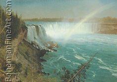 Albert Bierstadt, Niagara Fine Art Reproduction Oil Painting