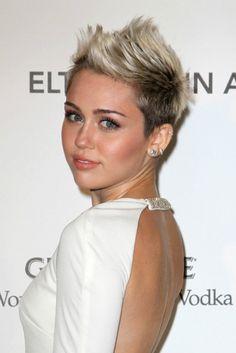 Los mejores looks con pelo corto de Miley Cyrus