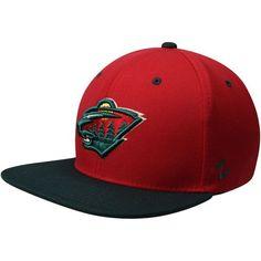 quality design e8d56 20b42 Men s Minnesota Wild Zephyr Red Green Z11 Snapback Adjustable Hat, Your  Price   27.99
