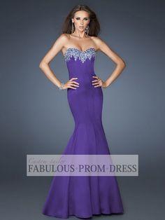 trumpet style prom dresses 2013 | 2013 Style Trumpet / Mermaid Sweetheart Rhinestone Sleeveless Floor ...