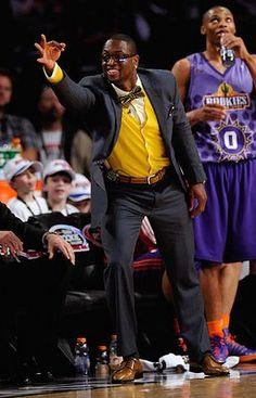 Dwayne Wade - Is he coaching or throwing up the YO! (KAPSI) LOL
