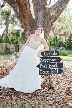 Real Bride Nicole in Lazaro, style 3063.     http://www.jlmcouture.com/Lazaro/Bridal/Additional/Style-3063