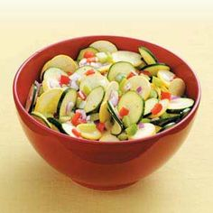 Sweet-and-Sour Squash Salad