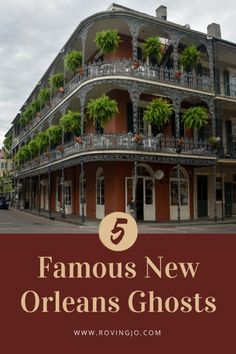 5 Famous New Orleans Ghosts. NOLA is not just the city of Mardi Gras, Jazz, and gumbo. The Crescent city also has a dark past which is reflected in how haunted it is today. Come discover Haunted NOLA and meet 5 of its resident ghosts. Usa Travel Guide, Europe Travel Tips, Travel Usa, Travel Destinations, Vacation Spots, Nola Vacation, Vacation Places, Vacations, Most Haunted