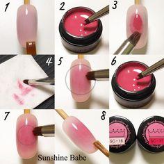 Blushing nails :)