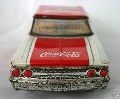 Coca-Cola Toy Car