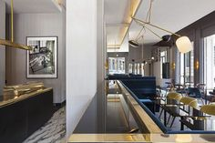 A refined modern restaurant  but it can be disected for the home Vincenzo De Cotiis Architects