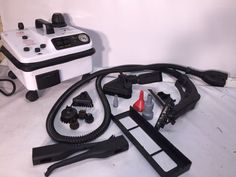 WhiteWing Vapor Steam Cleaner  Commercial Steamer Vapor Cleaner w Accessories…
