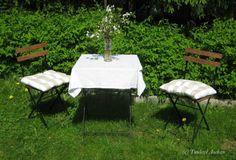 Sit down in our garden
