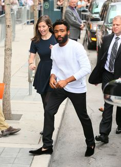 13 Times Donald Glover Proved He's the King of Cool-Guy Style