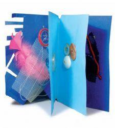 Libri tattili  http://www.smamma.net/2009/04/fare-libri-con-i-piu-piccoli/