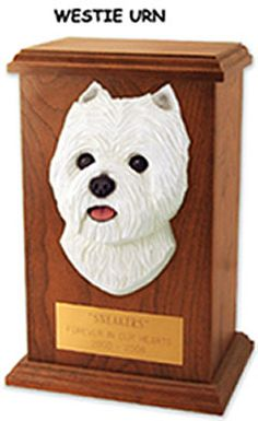 Custom made cremation urns for pets. Oak and Laser Etched ...
