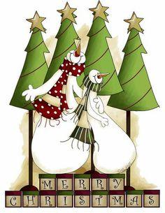 Me to you christmas decoupage gifts