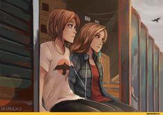 Life is Strange,Игры,Игровой арт,game art,ikimaru,artist,Chloe Price,Rachel Amber
