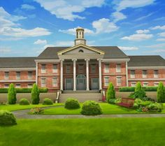 College Backgrounds Wallpapers) – Free Backgrounds and Wallpapers Episode Interactive Backgrounds, Episode Backgrounds, Anime Backgrounds Wallpapers, Anime Scenery Wallpaper, Scenery Background, Background Pictures, Goshen College, Small Colleges, Casa Anime