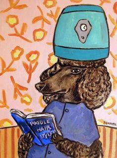 poodle hanukkah picture menorah dog art coffee mug 11oz