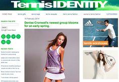 Press / Blog. SHOP tennis clothes  http://www.denisecronwall.com/#!tennis/c1n0f
