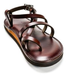 Brown Leather Sandal Original style by Piper Custom Sandals