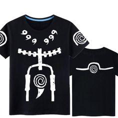 712009527 NARUTO Uzumaki Loose Cotton T-shirt (7 styles)