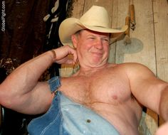 farmer flexing big muscles ranchers bigarms