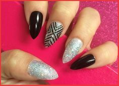 Sculptured Nails Tips Types of Artificial Nails & Different Nail Art Designs 2016 http://www.nail2hair.com/types-of-artificial-nails.html #NailArt #NailDesigns #Nail #AcrylicNails #SilkNails