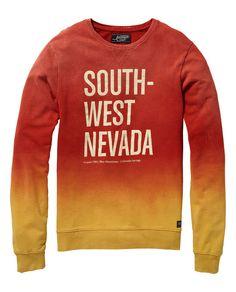 b332450c5d4 crew neck sweater with Print