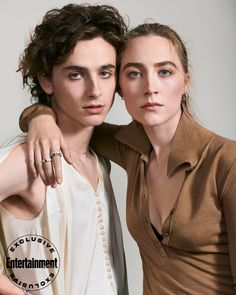 See gorgeous portraits of Saoirse Ronan and Timothée Chalamet at EW's 'Little Women' cover shoot - celebrities Beautiful Boys, Beautiful People, Cover Shoot, Model Tips, Timmy T, Comme Des Garcons, Aesthetic Vintage, Cozy Aesthetic, Pretty People