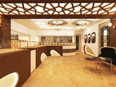 Showroom Design, Interior Design, Jewellery Showroom, Jewelry Stores, Jewelry Design, Lights, Mansions, House Styles, Decoration