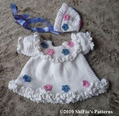 Maggies Dress Baby Crochet Pattern