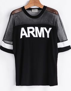 T SHIRT Damen ARMY Print Camouflage Muster GRAU SCHWARZ 38 40 42 S M
