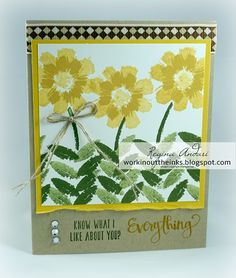 """WORKIN' OUT THE INKS: """"ALL ABOUT EVERYTHING"""" - APRIL 2016  PAPER PUMPKIN ALTERNATE PROJECTS"""
